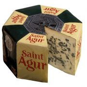 Saint Agur Wheel Cheese In Foil, 5 Pound -- 1 each.