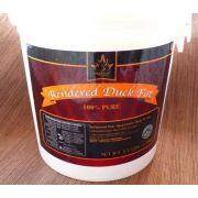 Maple Leaf Farms Rendered Duck Fat, 3.5 pound -- 3 per case