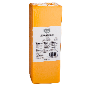 Follow Your Heart American Style Cheese Block Cheese Alternative, 5.5 Pound -- 5 per case.