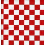 9X9 Red Checker Wax Paper -- 6 case -- 1000 count