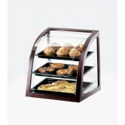 CalMil Euro Style Wood Frame Display Case, 17 x 17 x 18 inch -- 1 each.