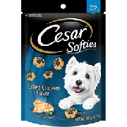 Cesar Grilled Chicken Flavor Softies Dog Treat, 6.7 Ounce -- 8 per case.