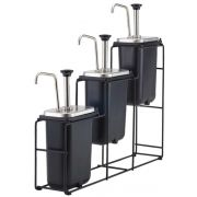 Server WireWise 3 Tiered Jar and Syrup Pump Station, 26.5 x 5.25 x 23.75 inch -- 1 each