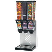 Server SlimLine Triple Countertop Dry Food and Candy Dispenser, 2 Liter -- 1 each