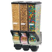 Server SlimLine Triple Dry Food and Candy Dispenser with Bracket, 2 Liter -- 1 each