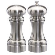 Chef Specialties Westin Pepper Mill and Salt Shaker Set, 5 inch -- 1 each.