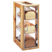 Cal Mil Madera 3 Tier Bread Display, 8 x 13 x 20.5 inch -- 1 each.