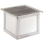 Cal Mil Urban Stainless Steel Chafer Alternative, 12 x 12 x 8.25 inch -- 1 each.