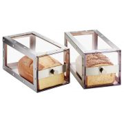 Cal Mil Urban Stainless Steel Bread Drawer, 6.75 x 12.25 x 6.75 inch -- 1 each.