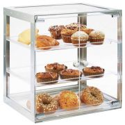Cal Mil Urban Stainless Steel 3 Tier Bakery Case Display, 19.25 x 14.25 x 19.25 inch -- 1 each.