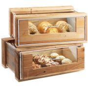 Cal Mil Madera Pastry Drawer Case, 24 x 11.75 x 8 inch -- 1 each.