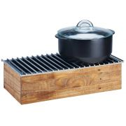 Cal Mil Madera Chafer Alternative, 20 x 10 x 5.75 inch -- 1 each.