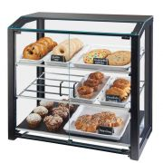 Cal Mil Large Black Grand Bakery Case, 29 x 17 x 29 inch -- 1 each.