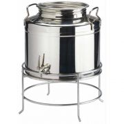 Cal Mil Stainless Steel Beverage Dispenser, 14 x 14 x 11 inch -- 1 each.