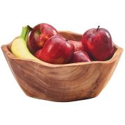 Cal Mil Irregular Wood Accent Bowl, 14 x 14 x 3.25 inch -- 1 each.