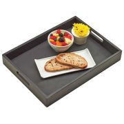 Cal Mil Midnight Bamboo Tray, 19 x 14 x 2.5 inch -- 2 per case.