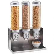 Cal Mil Urban 3 Section Cereal Dispenser, 18.25 x 10.25 x 27 inch -- 1 each.