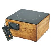 Cal Mil Bamboo Induction Cooker, 12 x 12 x 6 inch -- 1 each.