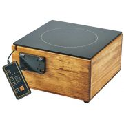Cal Mil Walnut Induction Cooker, 12 x 12 x 6 inch -- 1 each.