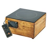 Cal Mil Madera Bamboo Induction Cooker, 12 x 12 x 6 inch -- 1 each.