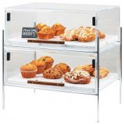 Cal Mil Chrome Mid Century Pastry Case, 16.25 x 11.25 x 18 inch -- 1 each.