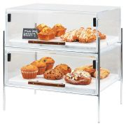 Cal Mil Chrome Mid Century Pastry Case, 19.5 x 13.5 x 18 inch -- 1 each.