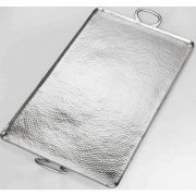 American Metalcraft Hammered Stainless Steel Large Rectangle Griddle, 30 3/4 inch Length -- 4 per case.