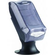 San Jamar Venue Clear Fullfold Control Face Napkin Dispenser with Stand, 17.5 x 8 x 13 inch -- 1 each.