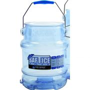 San Jamar Original and Shorty Saf T Ice Tote, 6 Gallon -- 1 each.