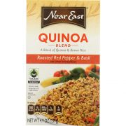 Near East Food Products Roasted Red Pepper and Basil Quinoa, 4.9 Ounce -- 12 per case.
