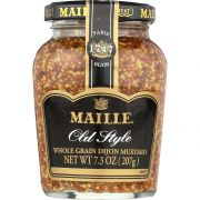 Maille Old Style Wholegrain Mustard, 7.3 Ounce -- 6 per case.