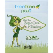 Green2 Ultra Soft Bath Facial Tissue - 90 per pack -- 30 packs per case.