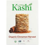 Kashi Organic Promise Cinnamon Harvest Whole Wheat Biscuit Cereal, 16.3 Ounce -- 12 per case.