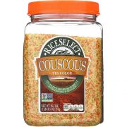 Rice Select Tri Color Couscous, 26.5 Ounce -- 4 per case.