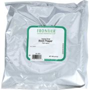 Frontier Herb Black Coarse Grind Pepper, 16 Ounce -- 6 per case