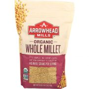 Arrowhead Mills Organic Hulled Millet, 28 Ounce -- 6 per case.