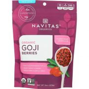 Navitas Naturals Organic Sun Dried Goji Berries, 8 Ounce -- 12 per case.
