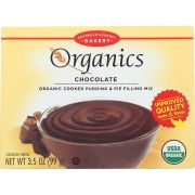 European Gourmet Bakery Organic Chocolate Pudding Mix, 3.5 Ounce -- 12 per case.