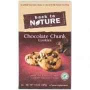 Back to Nature Chocolate Chunk Cookie, 9.5 Ounce -- 6 per case