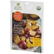 Simply Organic Garlic and Herb Vegetable Seasoning Mix, 0.71 Ounce -- 12 per case.