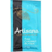 Artisana Organic Raw Coconut Butter, 1.06 Ounce Squeeze Pack -- 10 per case.