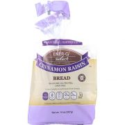Ener G Select Cinnamon Raisin Bread, 14 Ounce -- 6 per case.