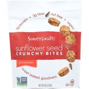 Somersaults Cinnamon Crunch Sunflower Nuggets, 6 Ounce -- 6 per case.