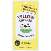Riega Foods Yellow Cheddar Cheese Sauce Mix, 1 Ounce -- 8 per case.