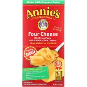 Annies Homegrown Four Cheese Macaroni and Cheese, 5.5 Ounce -- 12 per case.