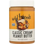 Wild Friends Classic Creamy Peanut Butter, 16 Ounce -- 6 per case.