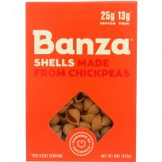 Banza Chickpea Shells Pasta, 8 Ounce -- 6 per case.