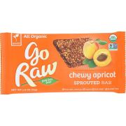 Go Raw Organic Real Live Apricot Sprouted Bar, 1.8 Ounce -- 30 per case.