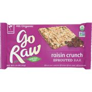 Go Raw Organic Raisin Crunch Sprouted Bar, 1.8 Ounce -- 20 per case.