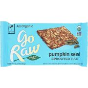 Go Raw Organic Live Pumpkin Sprouted Bar, 1.8 Ounce -- 20 per case.